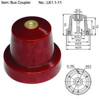 LK1.1-11 C-GIS Epoxy Resin Insulator