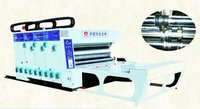 Automatic Feeder Flexo Printer Slotter With Die Cutter