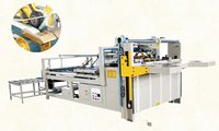 Semi Automatic Carton Folder Gluing Machine