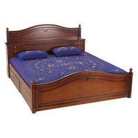 Teakwood Double Bed