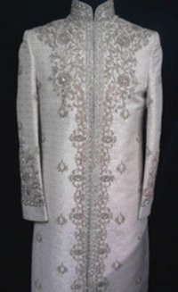 Zari Work Groom Sherwani