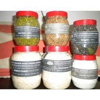 Organic Rice, Dal, Channe and Sattu