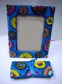 Blue Colour Photo Frame