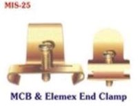 MCB & Elmex End Clamp