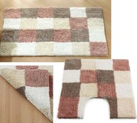 Reversible Box Bathmat Set