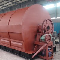 Waste Tire Recycling Equipments