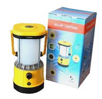 Led Solar Camping Lantern With Mobile Charger