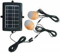 2w Led Solar Lighting System For Home