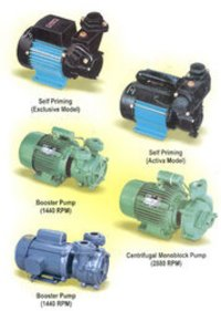 Re-Generative Self Priming Monoblock Pump Sets