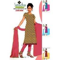 Ladies Silk Dress Material