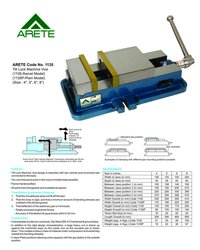 Tilt Lock Machine Vice