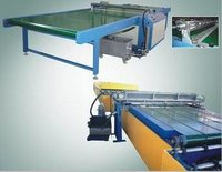 Horizontal Glass Washing Machine / Glass Paint Coating Machine