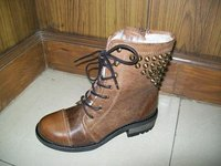 Brown Colour Boot