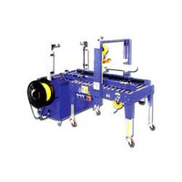 Fully Auto Strapping Cum Carton Sealing Machine