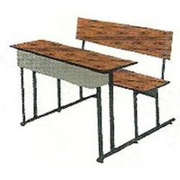 Rohilla Dual Desk With Bench