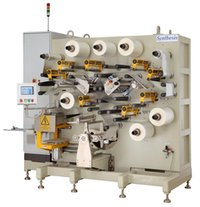 Automatic HT Capacitor Winding Machine (Dual Mandrel- Indexing Type)