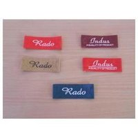 Bright Satin Labels