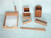 Wood Office Set (6 Pcs.)