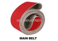 Main Belts For Briquetting Plant