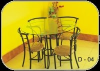 Designer Iron Dining Set