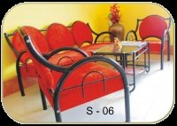 Iron Sofa Set