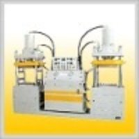 Double Station Compression Moulding Machine