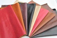 Bicolor Pu Synthetic Leather