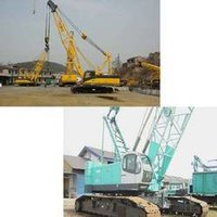 Crawler Cranes Rental Service