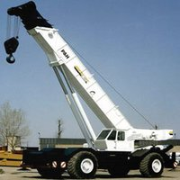 Lattic Boom Cranes Rental Service