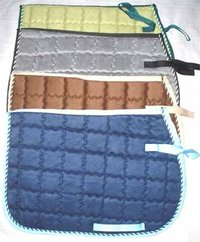 Suede Type Dressage Saddle Pads