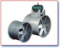 Tube axial flow fan Industrial
