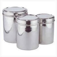 Stainless Steel Designer Containers