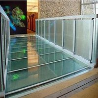 Glass Floorings