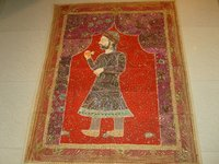Tapestry Indian Zari Hand Work
