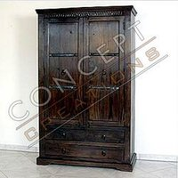 Acacia Wood 2 Door Almirah