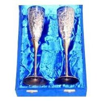 Goblet Set Full Engraved