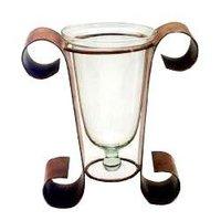 Double Post Single Glass Pot Pourri Stand