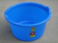 Plastic Tub Blue