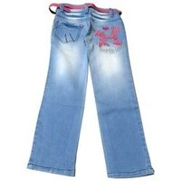 Embroided Kids Jeans