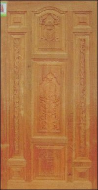 Burma Teak Carved Door