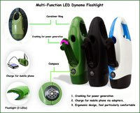 Multi-Function Led Dynamo Flashlight