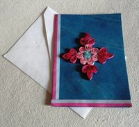 Handmade Paper Quilled Greeting Cards