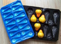 Disposable Perforated PP Fruit Trays For Pear