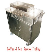 Coffee And Tea Serving Trolley
