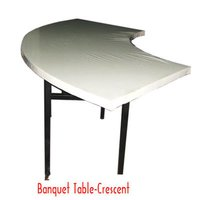Crescent Banquet Table