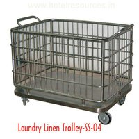 Laundry Linen Trolley
