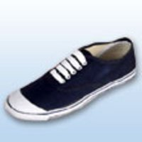 Tennis Blue Canvas Sport Shoes