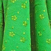 Embrodiery On Hosiery Fabrics