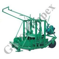 Manual Movable Concrete Block Making Machinery