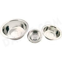 Pet Bowl Wide Rim Embossed